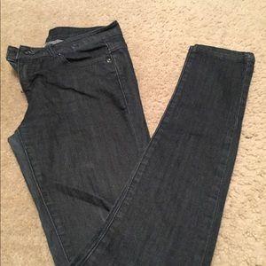 Women's dark wash jeans